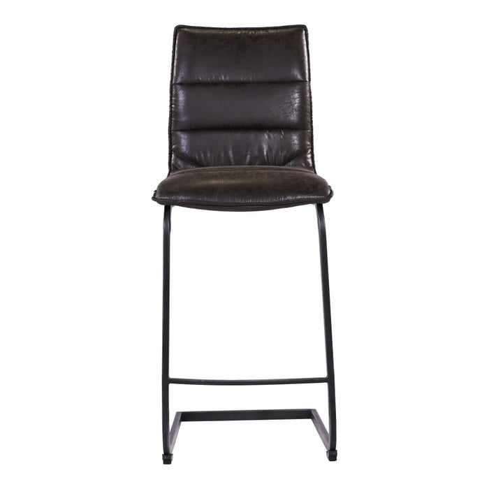 RADIANT COUNTER STOOL BLACK-SET OF TWO