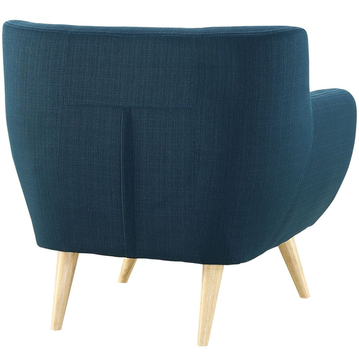 REMARK UPHOLSTERED FABRIC ARMCHAIR