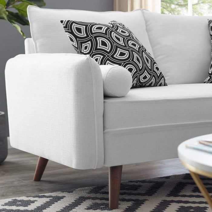 REVIVE UPHOLSTERED FABRIC LOVESEAT