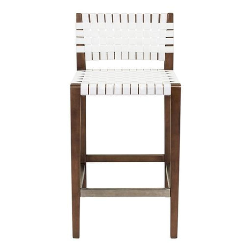 Risom Counter Stool White Walnut