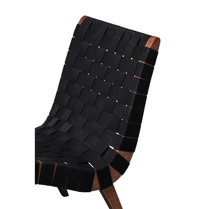 Risom Lounge Chair Black Walnut