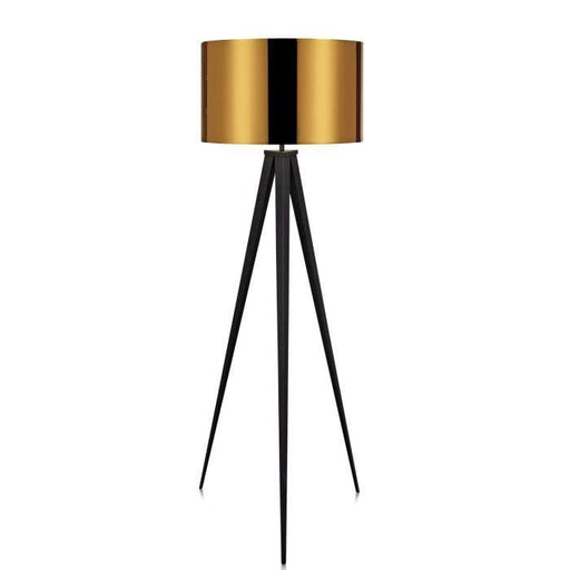 Roma Tripod Floor Lamp Copper Shade