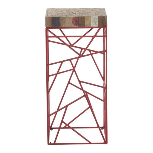 RUBIC BAR STOOL RED
