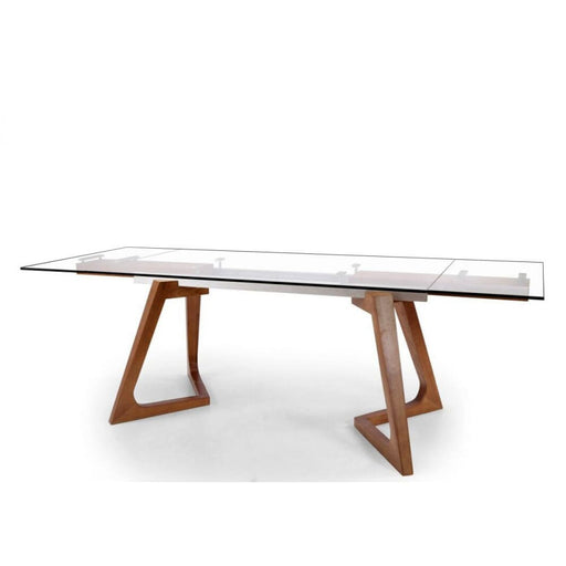 Rutherford Walnut Extendable Dining Table