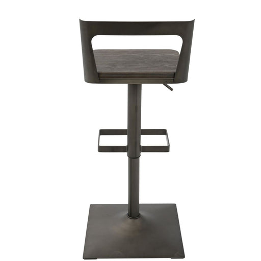 Samuel Bar Stool Antique Espresso