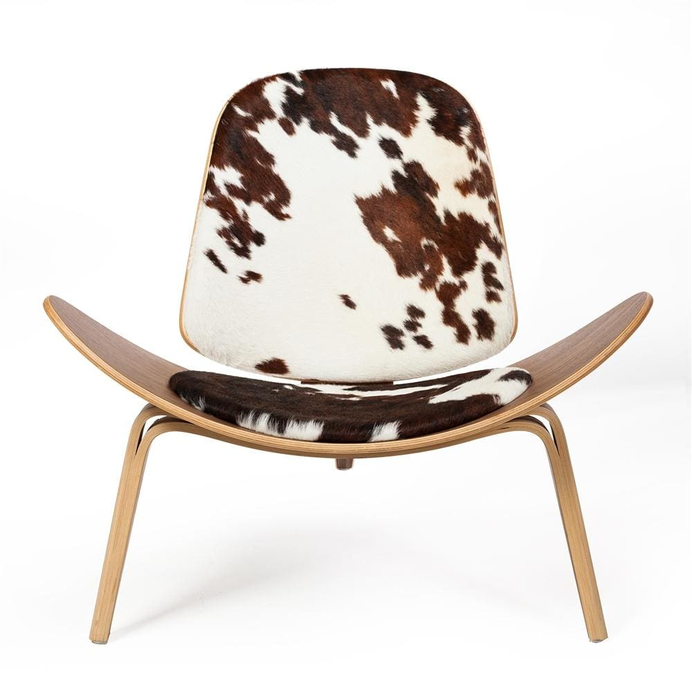 Shell Chair Cow Hide