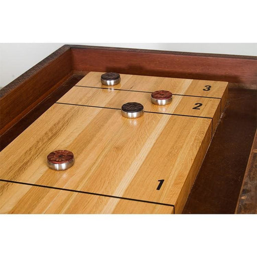 Shuffleboard Game Table Burnt Umber