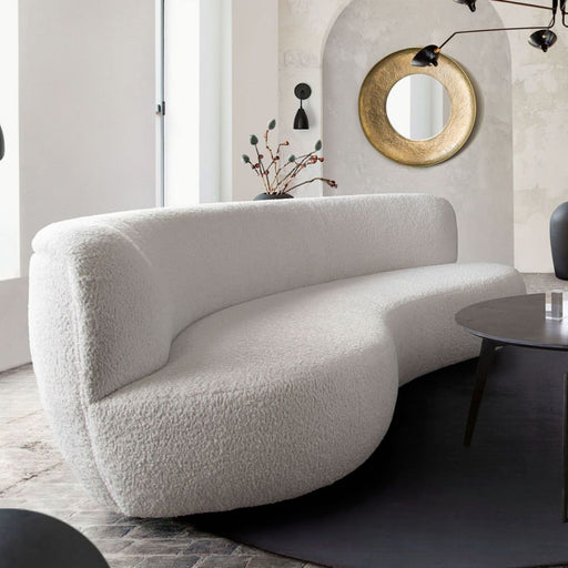 Simone Curved Sofa
