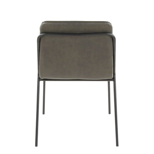 Sling Modern Chair Charcoal Set of 2
