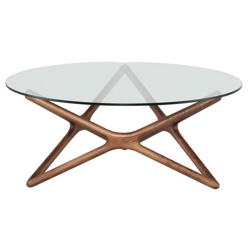 Star Coffee Table Walnut