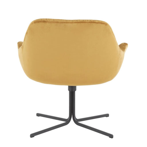 Thurston Lounge Chair Chartreuse Velvet