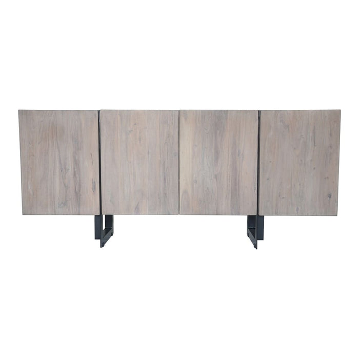 TIBURON SIDEBOARD LARGE PALE GREY