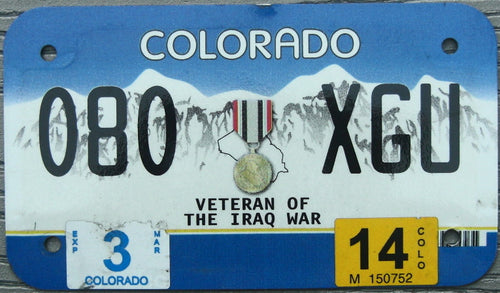 COLORADO VETERAN IRAQ WAR 2014 080XGU