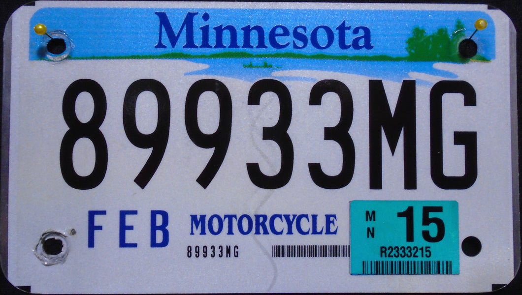 MINNESOTA 2015 89933MG