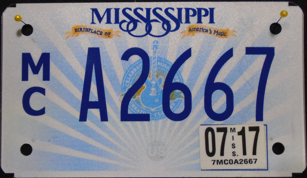 MISSISSIPPI 2017 A2667