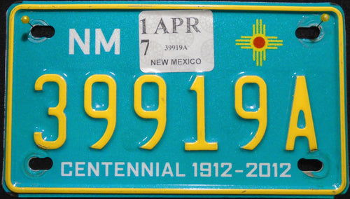 NEW MEXICO CENTENNIAL 2017 39919A