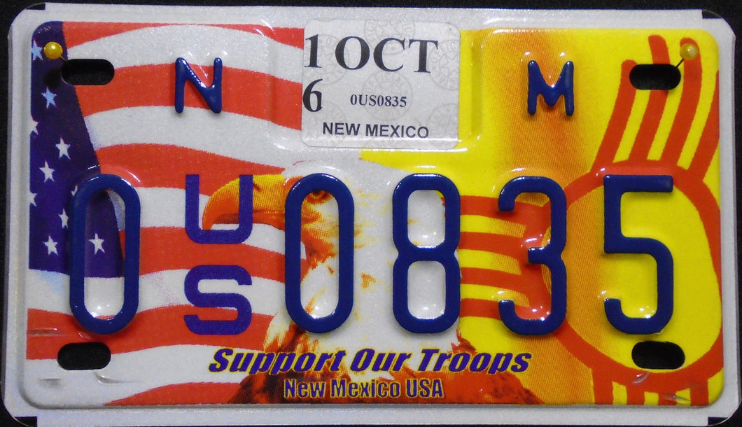 NEW MEXICO SUPPORT OUR TROOPS 2016 0 0835