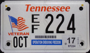 TENNESSEE OPERATION ENDURING FREEDOM VETERAN 2017 224