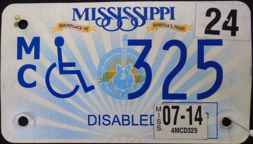 MISSISSIPPI DISABLED 2014 325