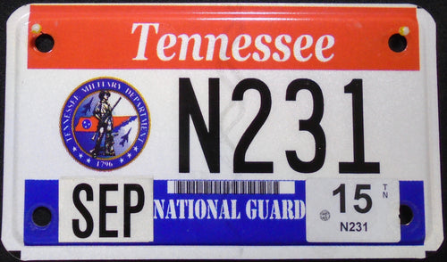 TENNESSEE VETERAN NATIONAL GUARD 2015 N231