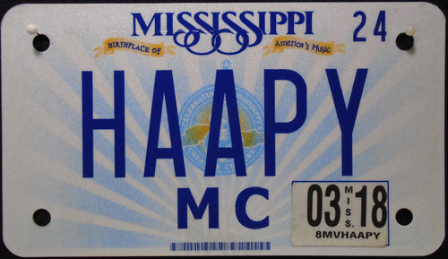 MISSISSIPPI VANITY 2018 HAAPY