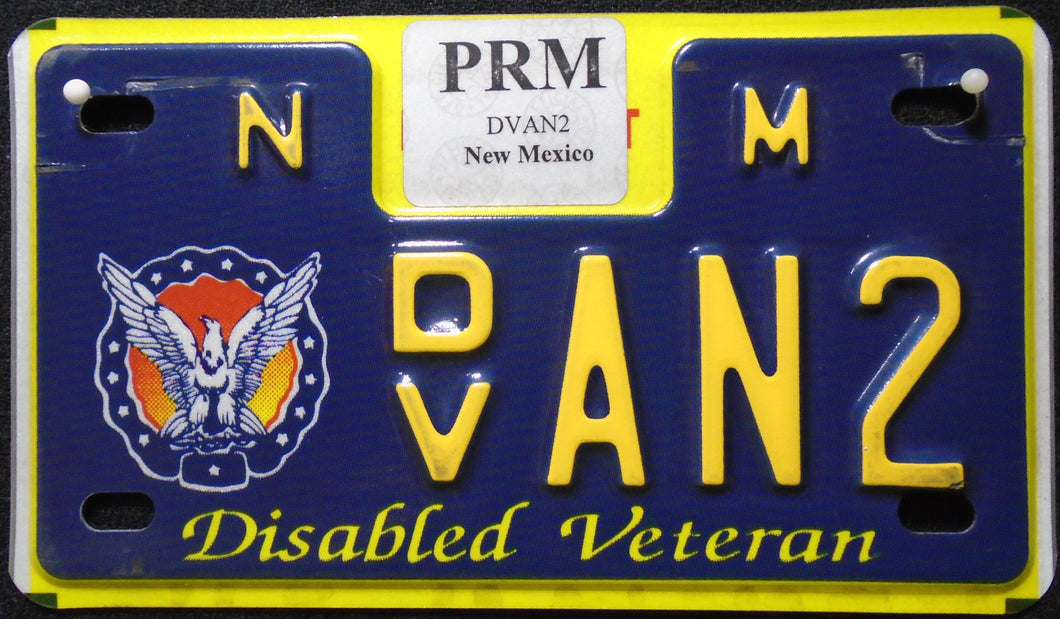 NEW MEXICO DISABLED VETERAN AN2
