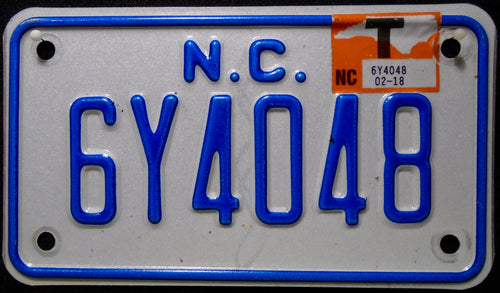 NORTH CAROLINA 6Y4048