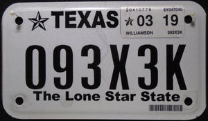 TEXAS THE LONE STAR STATE 2019 093X3K