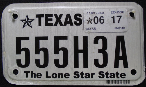 TEXAS THE LONE STAR STATE 2017 555H3A