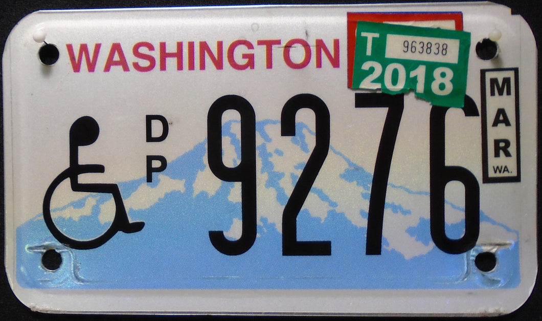 WASHINGTON DISABLED 2018 9276