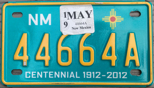 NEW MEXICO CENTENNIAL 2019 44664A