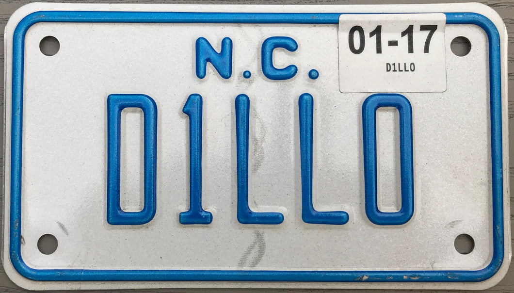 NORTH CAROLINA VANITY 2017 D1LL0