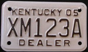 KENTUCKY DEALER 2005 XM123A