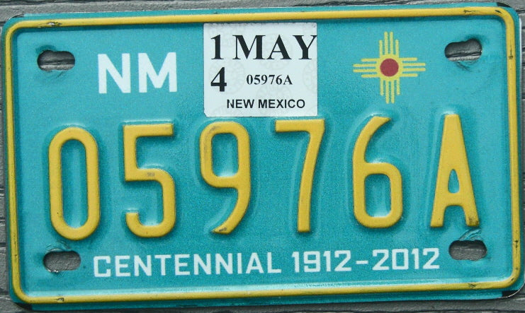 NEW MEXICO CENTENNIAL 2014 05976A