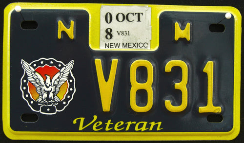 NEW MEXICO VETERAN 2008 V831