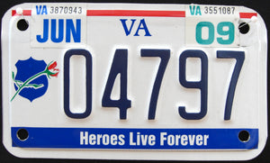 VIRGINIA HEROES LIVE FOREVER 2009 04797