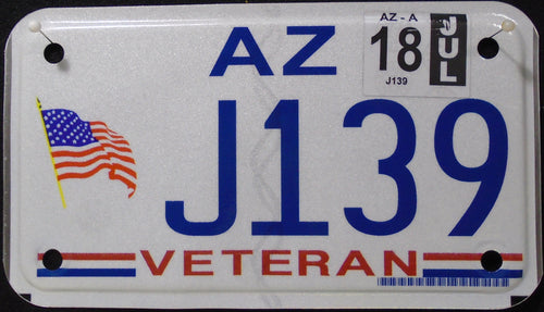 ARIZONA VETERAN 2018 J139