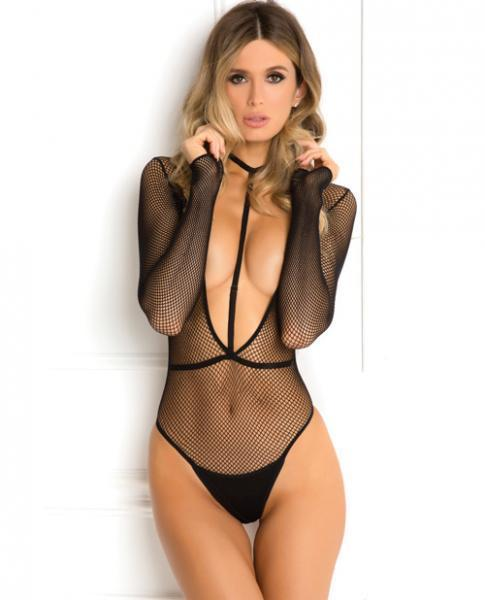 Rene Rofe Body Plunge Harness Set Black S-M