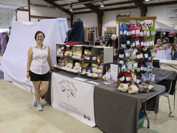 Muskoka Yarn and Fibre Festival - Successful First Show
