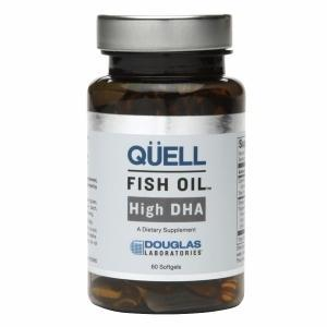 Quell Fish Oil High DHA - 60 Softgels