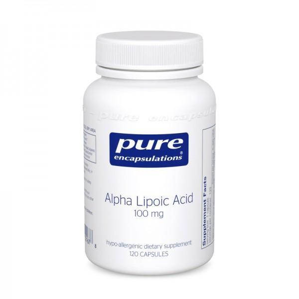 Alpha Lipoic Acid 100 mg - 60 Vegetarian Capsule