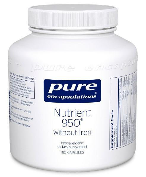 Nutrient 950 (without Iron) - 180 Vegetarian Capsules