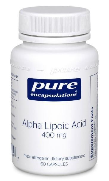 Alpha Lipoic Acid 400 mg - 60 Vegetarian Capsules