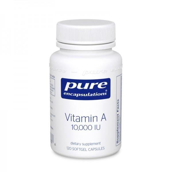 Vitamin A 10,000 IU - 120 Softgels