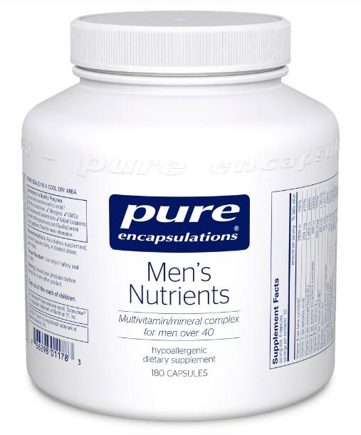 Men's Nutrients - 180 Vegetarian Capsules