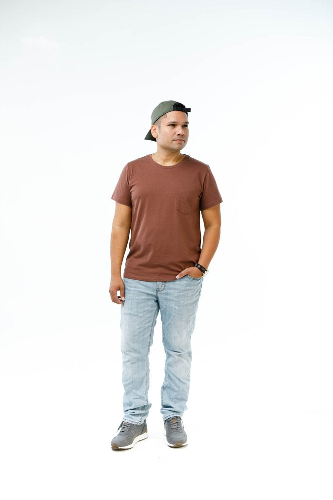 Men's Crew Neck Pocket Tee