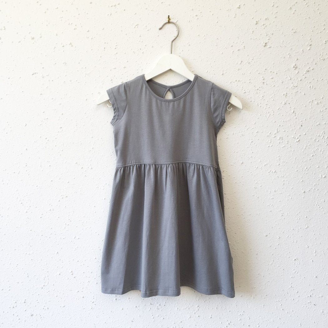 Lydia Dress in Toddler | Gray