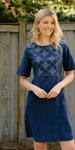 Sheffield Dress Dark Chambray