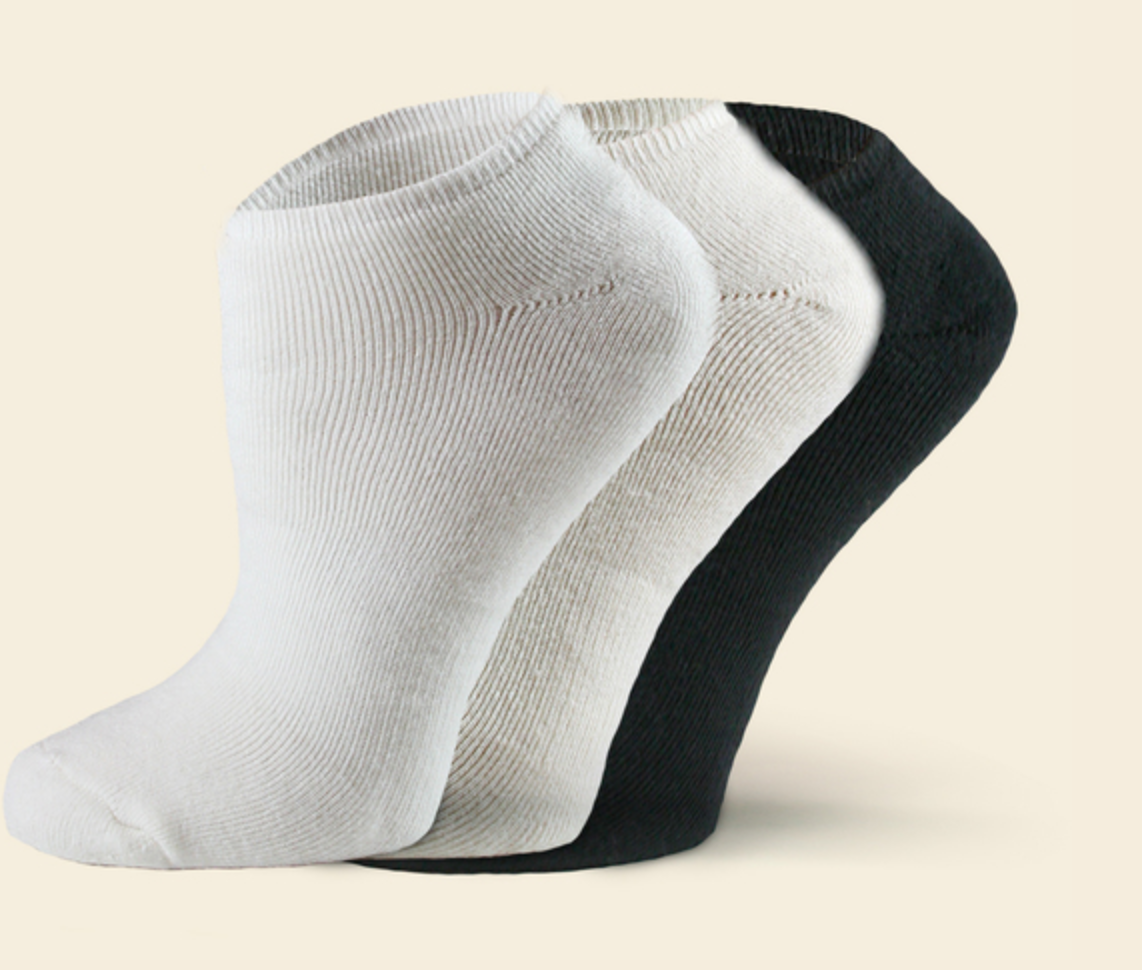 Organic Cotton Footie Sock | Solid | 2 Colors