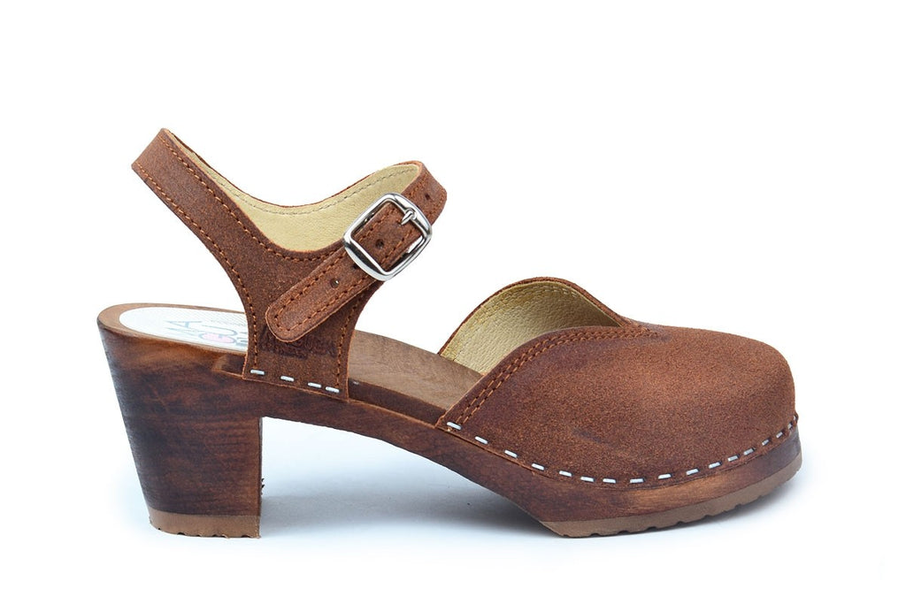 Florence Brown Suede